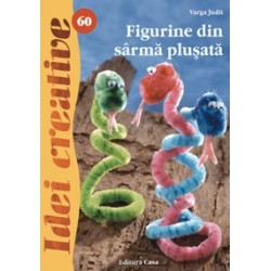 Figurine din sârmă pluşată - Idei Creative 60