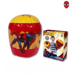 56216 JOHN Set manusi cilindru gonflabile 25 cm - Spiderman