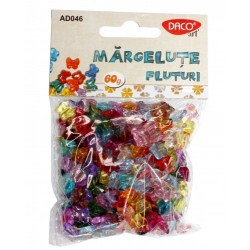 Set Margelute Fluturi multicolore AD046 Daco Art