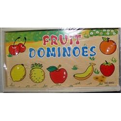 Joc Domino Fructe - lemn