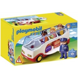 Jucarie autobuz Playmobil 1.2.3 PM6773
