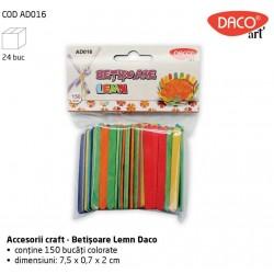 Accesorii craft - AD016 Betisoare Lemn Daco Art