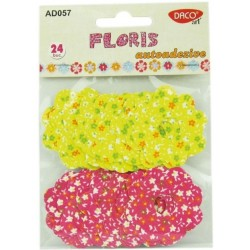 FLORIS -  flori textile autoadezive Daco Art AD057