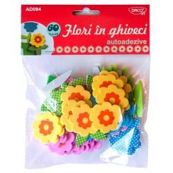 Flori in ghiveci Spuma Autoadeziva AD094 DACO Art