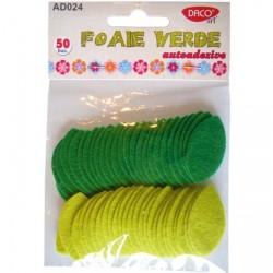 Accesorii Craft - Foaie verde autoadezive Daco Art AD024
