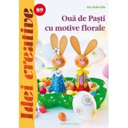Ouă de Paşti cu motive florale - Idei creative 89