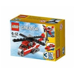 LEGO Elicopter Tunetul rosu LEGO Creator 31013