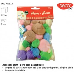 Pom Pom Pastel Daco Art AD114