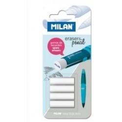 Rezerva radiere Milan pentru creioanele mecanice
