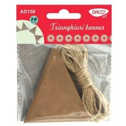 Triunghiuri banner AD158