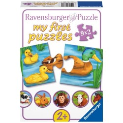 My First Puzzle - Animale Adorabile, 9x2 piese Ravensburger