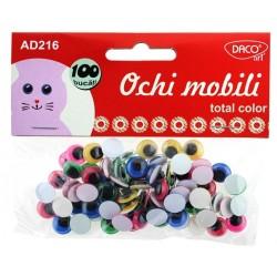 Accesorii craft - AD216 Ochi total color DACO