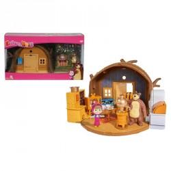 Set Casuta Ursuletului cu figurine si accesorii Masha and the Bear