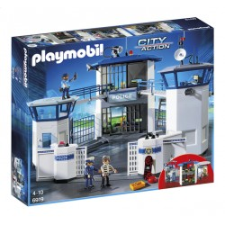Sediu de Politie cu Inchisoare Playmobil PM6919
