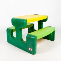 Masuta picnic verde, Little Tikes