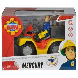 Quad Mercury cu figurina - Pompierul Sam