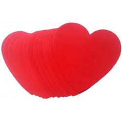 Inimioara hartie gumata