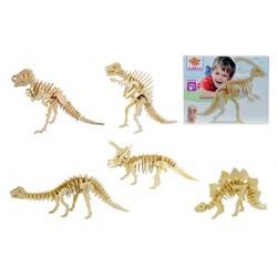 Joc puzzle lemn 3D dinozauri Eichhorn
