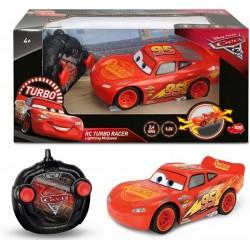 Masina Cars 3 RC Turbo Racer Lightning McQueen 1:24