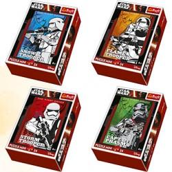 """Joc mini puzzle 54 piese """"Star Wars"""" Trefl"""