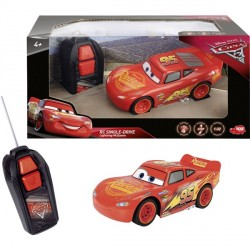 Masina cu telecomanda Fulger McQueen  Single-Drive Dickie Disney Cars3