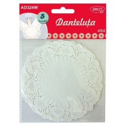 Accesorii craft - AD324W Danteluta alba DACO