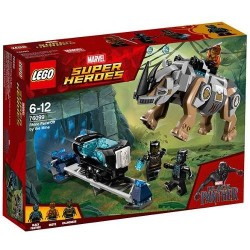 LEGO Marvel Super Heroes Rhino Face-Off 76099
