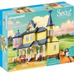 Playmobil Spirit Casa Lui Lucky PM9475
