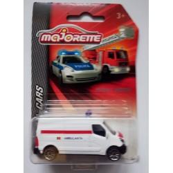 Ambulanta Renault Master, Masinuta Majorette SOS