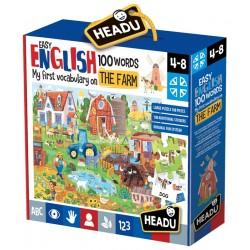 Joc Invata rapid engleza, Nivel Simplu, 100 Cuvinte, Ferma