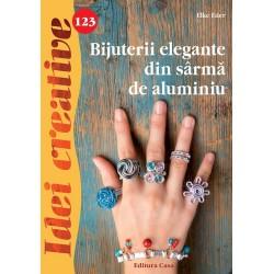 Bijuterii elegante din sârmă de aluminiu - Idei creative 123