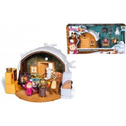 Casa de iarna Masha si ursul, Simba Toys 109301023