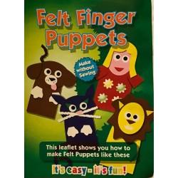 Set creativ Felt Finger Puppets