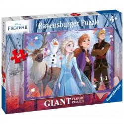 Puzzle Frozen II, 60 Piese, Ravensburger