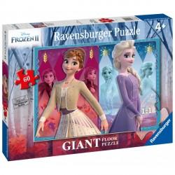 Puzzle Frozen 2 Elsa & Anna, 60 Piese, Ravensburger