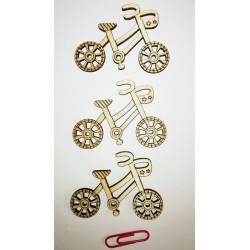 Bicicleta din lemn, 20 bucati/set