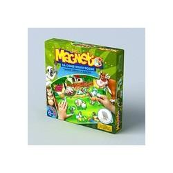 Joc magnetic Sa construim scene cu animale salbatice si domestice