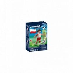 Jucator de fotbal Polonia Playmobil PM70486