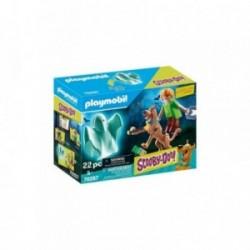 Playmobil Scooby-Doo! Scooby & Shaggy cu fantoma PM70287