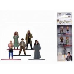 Set 5 figurine metalice Harry Potter 4 cm scara 1 65 253180004
