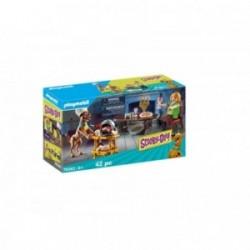 Playmobil Scooby-Doo! Cina cu Shaggy PM70363