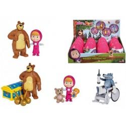 Figurina surpriza in ou, Masha si ursul, Simba Toys