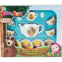Set de ceai portelan Masha si Ursul- Smoby