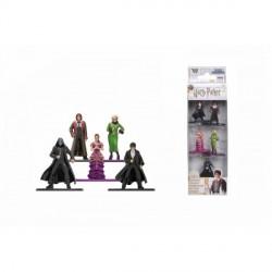 Set 5 figurine metalice Harry Potter 4 cm scara 1 65 253180003