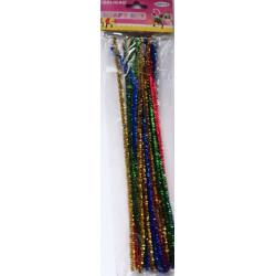Sarma Plusata glitter multicolora, 30/Set