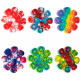 Jucarie Senzoriala Antistres Pop It Now Push Bubble Floare multicolora