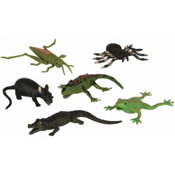 Animalute cauciucate 14 cm, diverse modele Simba Toys