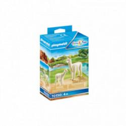 Alpaca cu pui Playmobil PM70350