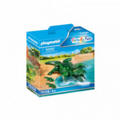 Aligator cu pui Playmobil PM70358