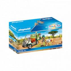 Veterinar cu cart medical Playmobil PM70346